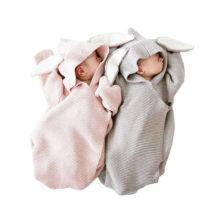 Cartoon Rabbit Baby Swaddle Baby Wrap