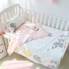 Patterned Cotton Baby Bedding Set
