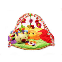 Colorful Baby Play Mat with Rattles