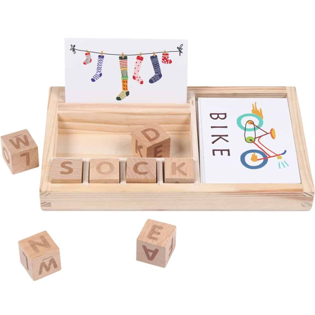 Wooden Spelling Toy 9