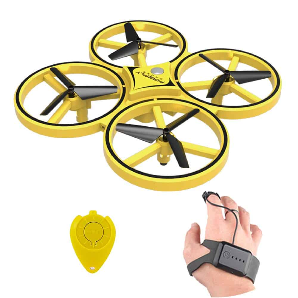 Gesture Controlled Quadcopter 10