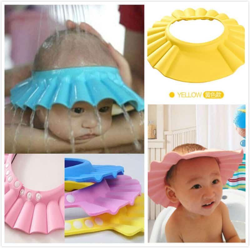 Adjustable Baby Shower Cap 3